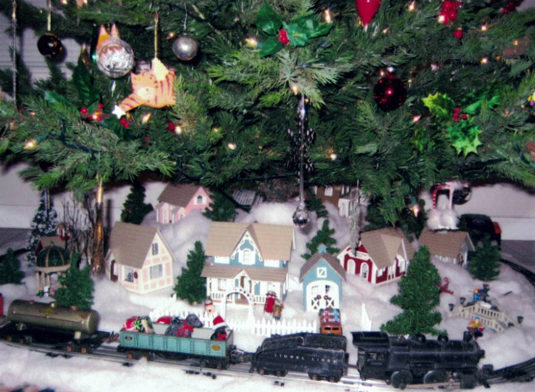 Lionel Train Christmas Village